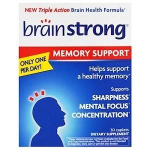 Brainstrong-פורמולה לזיכרון וריכוז #1