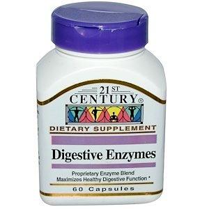 עיכול בריא – פורמולת אנזימים למערכת העיכול (60 יח')