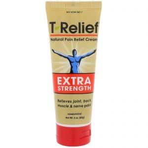 T-Relief- משחת כאב הומיאופתית למריחה ועיסוי(80 גר')