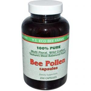 פולן דבורים-מזון מלכות- פורמולה לחולשה ואנמיה(200 כמוסות)