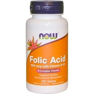 אנמיה בוסטר -Folic Acid with Vitamin B-12