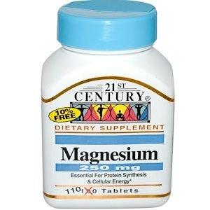 """מגנזיום נטו –  250 מ""""ג, (110 טבליות)"""