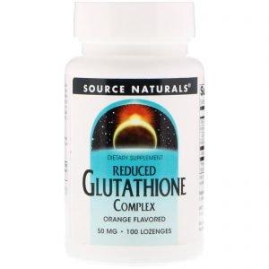"""גלותטיון(Glutathion) מוחלש לתמיכה קבועה במערכת החיסון ובהזדקנות (100יח'-50מ""""ג)"""