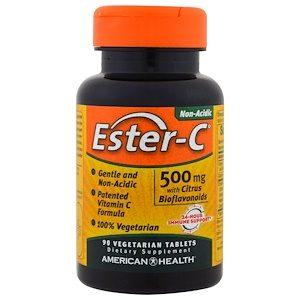 """""""ויטמין C אסטר """" סדרת חורף בריא 500מג' (90יח')"""