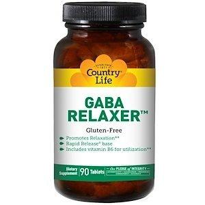 גאבא – GABA- פורמולה להרגעה טבעית מושלמת(90 יח')