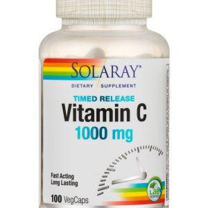ויטמין  C איכותי מתוזמן 1000 מג' (100 יח')