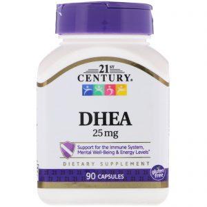 DHEA – הורמון הנעורים (25 מג' 90 יח')