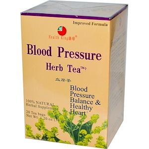 תמיכה בהורדת לחץ דם, תה צמחים