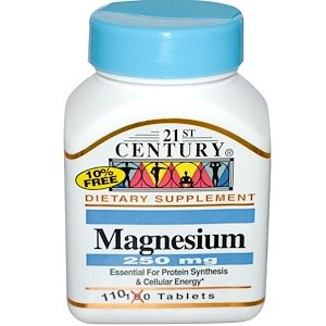 """מגנזיום נטו - 250 מ""""ג, (110 טבליות)"""