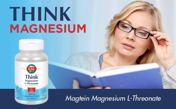 מגנזיום - טריאונט 60 יח' Magnesium L-Threonate