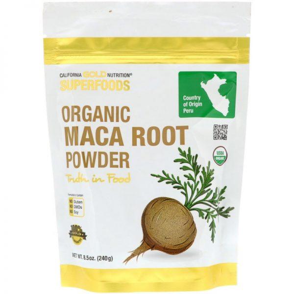 Maca - מאקה -אבקת שורש פרואני אורגני(240גר')