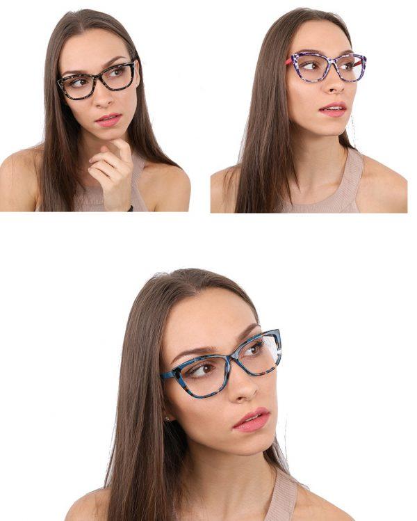 משקפי מולטיפוקל - אונליין עם מסגרת יוקרתית חינם