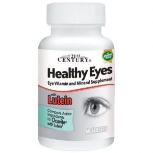 121-פורמולת בריאות העין עם לוטאין , 60 טבליות