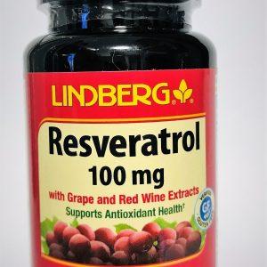 רסברטרול מתאי ענבים אדומים (60 יח')-Resveratrol