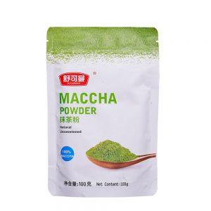 מאצ'ה - תה ירוק אורגאני באבקה רכיבים טבעיים