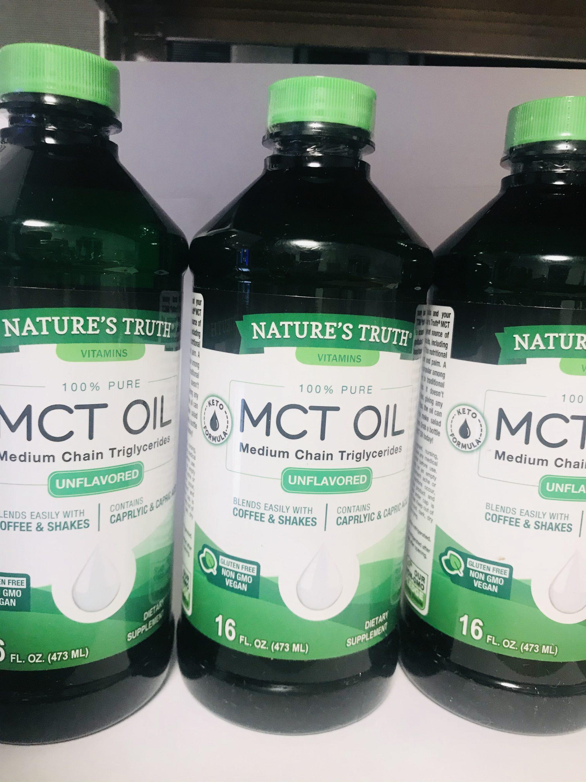 """שמן MCT טהור (473 מ""""ל)"""